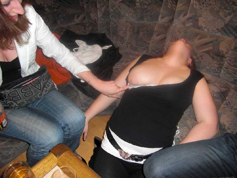Something is. hot drunk college girls simply